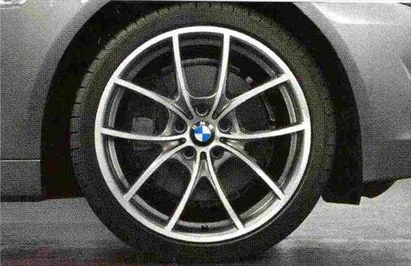 5 パーツ Vスポーク・スタイリング356バイカラー(ポリッシュ/フェリック・グレー) コンプリートセット 245/35R20 フロント 275/30R20 リヤ BMW純正部品 オプション アクセサリー 用品 純正 送料無料