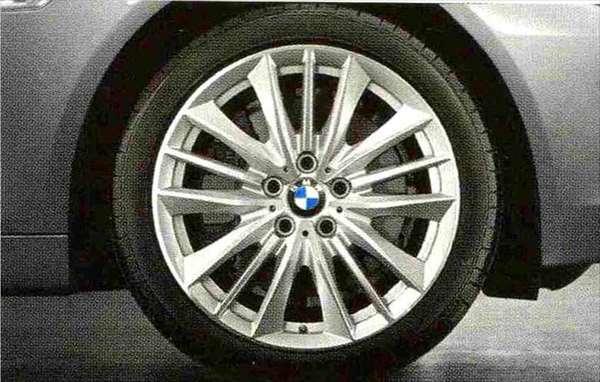 5 パーツ Wスポーク・スタイリング332 ホイール単体8.5J×19(セダン用フロント、ツーリング用フロント/リヤ) BMW純正部品 XG20 FW20 XG28 FR35 KN44 XL20 MX20 XL28 MU35 HR44 オプション アクセサリー 用品 純正 送料無料