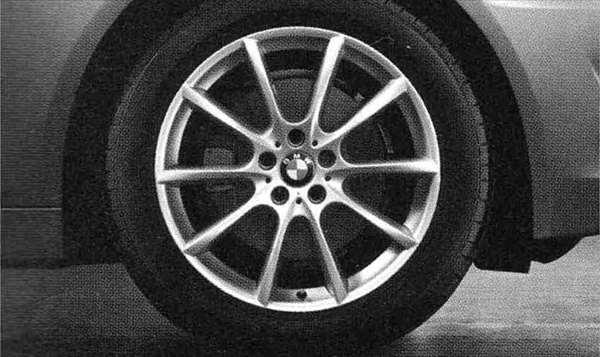 5 パーツ Vスポーク・スタイリング281 ホイール単体8J×18(セダン用フロント、ツーリング用フロント/リヤ) BMW純正部品 XG20 FW20 XG28 FR35 KN44 XL20 MX20 XL28 MU35 HR44 オプション アクセサリー 用品 純正 送料無料