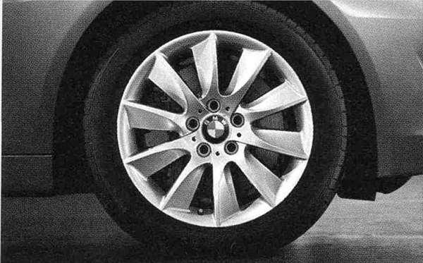 5 パーツ タービン・スタイリング329 ホイール単体8J×18(セダン用フロント、ツーリング用フロント/リヤ) BMW純正部品 XG20 FW20 XG28 FR35 KN44 XL20 MX20 XL28 MU35 HR44 オプション アクセサリー 用品 純正 送料無料