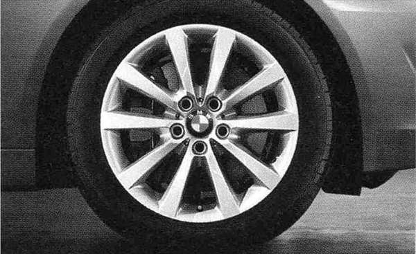 5 パーツ Vスポーク・スタイリング328 ホイール単体8J×18(フロント/リヤ) 【BMW純正部品】 XG20 FW20 XG28 FR35 KN44 XL20 MX20 XL28 MU35 HR44 オプション アクセサリー 用品 純正 【送料無料】