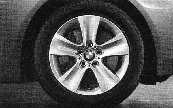 5 パーツ スタースポーク・スタイリング327ホイール単体8J×17(フロント/リヤ) 【BMW純正部品】 XG20 FW20 XG28 FR35 KN44 XL20 MX20 XL28 MU35 HR44 オプション アクセサリー 用品 純正 【送料無料】
