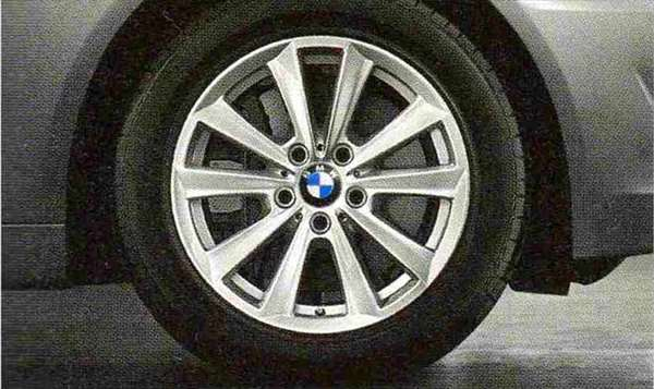 5 パーツ Vスポーク・スタイリング236ホイール単体8J×17(フロント/リヤ) 【BMW純正部品】 XG20 FW20 XG28 FR35 KN44 XL20 MX20 XL28 MU35 HR44 オプション アクセサリー 用品 純正 【送料無料】