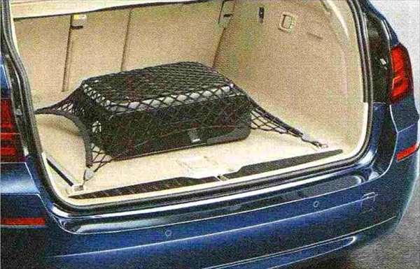 5 パーツ ラゲージ・ルーム・ネット(セダン用) BMW純正部品 XG20 FW20 XG28 FR35 KN44 XL20 MX20 XL28 MU35 HR44 オプション アクセサリー 用品 純正 ネット