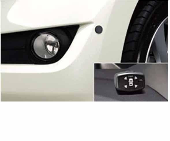 『bB』 純正 QNC20 コーナーセンサー ボイス(4センサー) パーツ トヨタ純正部品 危険察知 接触防止 セキュリティー オプション アクセサリー 用品