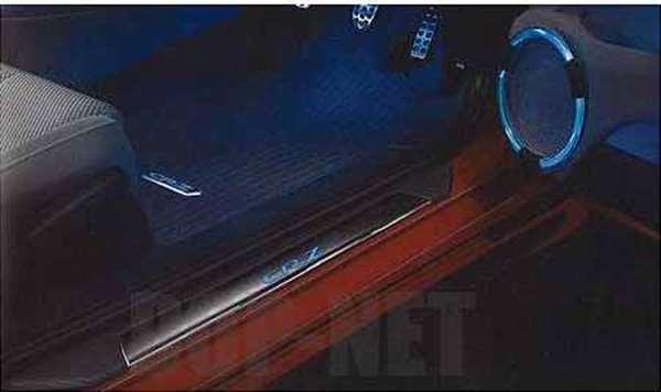 『CR-Z』 純正 ZF1 LEDサイドステップガーニッシュ パーツ ホンダ純正部品 ステップ 保護 プレート オプション アクセサリー 用品