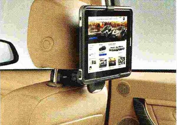 3 SEDAN・TOURING パーツ トラベル&コンフォート・システムのiPadホルダー BMW純正部品 3A20 3B20 3D20 3A30 オプション アクセサリー 用品 純正