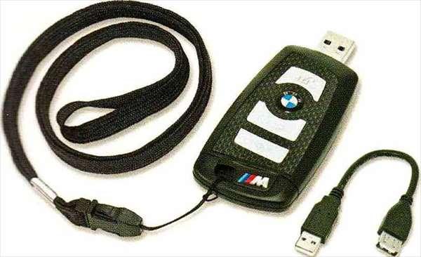 "3 SEDAN・TOURING パーツ BMWリモート・コントロール・キー型""M""USBメモリー・スティック8GB BMW純正部品 3A20 3B20 3D20 3A30 オプション アクセサリー 用品 純正"