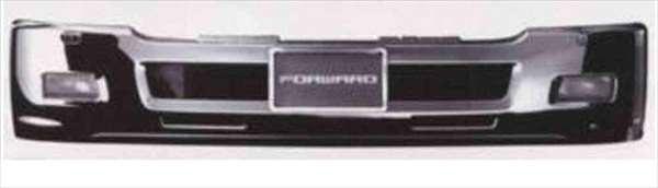 フォワード メッキエアダム一体式バンパー 標準 イスズ純正部品 フォワード パーツ frr90 fsr90 frr34 パーツ 純正 イスズ いすゞ イスズ純正 いすゞ 部品 オプション メッキ 送料無料