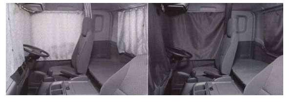 フォワード ラウンドカーテンレールキット ※リア部分は別売り イスズ純正部品 フォワード パーツ frr90 fsr90 frr34 パーツ 純正 イスズ いすゞ イスズ純正 いすゞ 部品 オプション カーテン