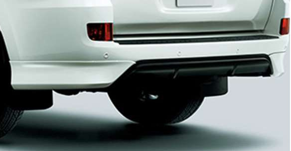 ランドクルーザー200 純正 低価格 URJ202W リヤバンパースポイラー パーツ landcruiser オプション 新色追加 用品 トヨタ純正部品 アクセサリー