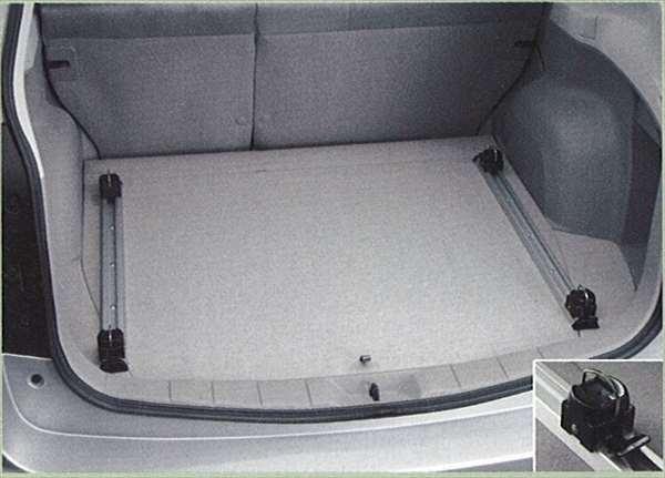『フォレスター』 純正 SH5 カーゴレール&フック パーツ スバル純正部品 Forester オプション アクセサリー 用品