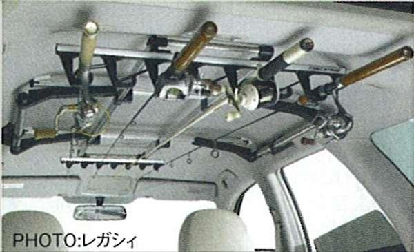 『フォレスター』 純正 SH5 ロッド(釣り竿)ホルダー(バス釣り用) パーツ スバル純正部品 Forester オプション アクセサリー 用品