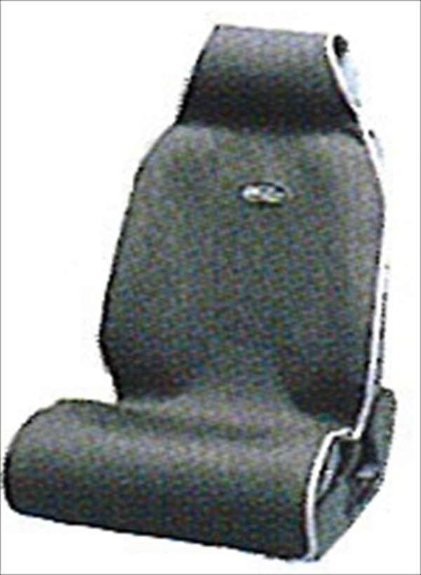 『ハイエース』 純正 KDH201 KDH206 シートエプロン1枚グレー パーツ トヨタ純正部品 汚れから保護 セミシートカバー hiace オプション アクセサリー 用品
