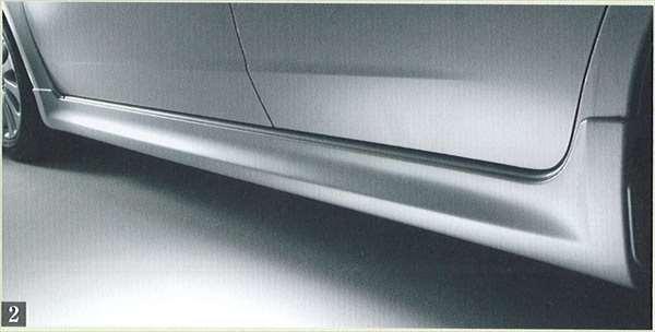 『インプレッサ』 純正 GH2 GH7 サイドアンダースカート パーツ スバル純正部品 impreza オプション アクセサリー 用品
