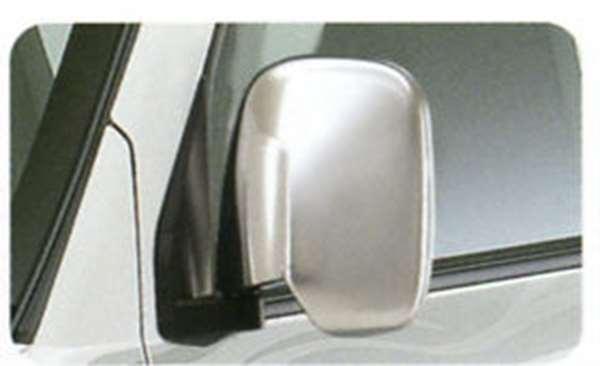 『ミニキャブ』 純正 U61V U61T U61TP メッキミラーカバー パーツ 三菱純正部品 MINICAB オプション アクセサリー 用品