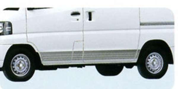 『ミニキャブ』 純正 U61V U61T U61TP ストライプテープ(シルバー) パーツ 三菱純正部品 ステッカー シール ワンポイント MINICAB オプション アクセサリー 用品