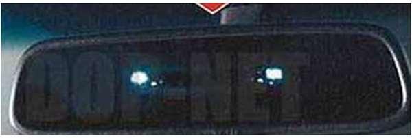 『デリカD:5』 純正 CV5W CV4W オート防眩ルームミラー パーツ 三菱純正部品 DELICA オプション アクセサリー 用品