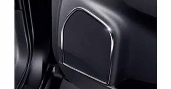 『プリウスα』 純正 ZVW41W スピーカーガーニッシュ メッキ パーツ トヨタ純正部品 prius オプション アクセサリー 用品