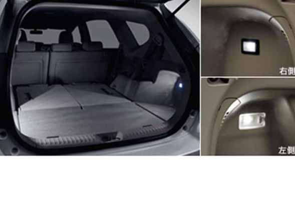 『プリウスα』 純正 ZVW41W ラゲージルームランプ パーツ トヨタ純正部品 prius オプション アクセサリー 用品