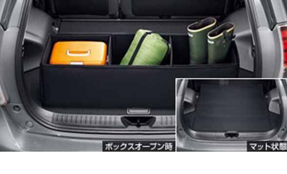 『プリウスα』 純正 ZVW41W ラゲージソフトボックス パーツ トヨタ純正部品 prius オプション アクセサリー 用品
