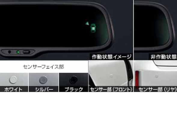 『プリウスα』 純正 ZVW41W コーナーセンサー センサーキット パーツ トヨタ純正部品 危険察知 接触防止 セキュリティー prius オプション アクセサリー 用品