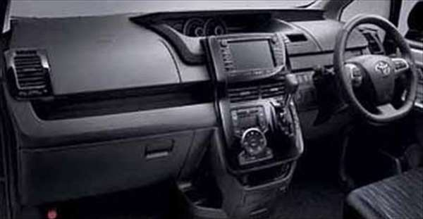 『ノア』 純正 ZRR70 インテリアパネル ブラック パーツ トヨタ純正部品 内装パネル noa オプション アクセサリー 用品