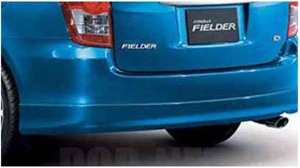 『カローラフィールダー』 純正 ZRE142G リヤバンパースポイラー パーツ トヨタ純正部品 fielder オプション アクセサリー 用品
