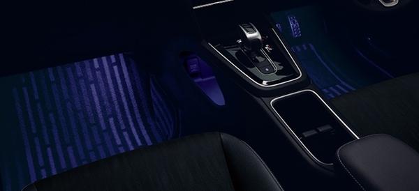 『シャトル』 純正 GP7 GP8 GK8 GK9 フットライト LEDブルー照明 パーツ ホンダ純正部品 オプション アクセサリー 用品