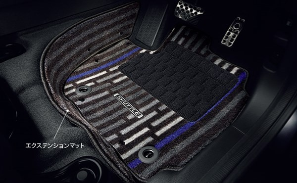 『シャトル』 純正 GP7 GP8 GK8 GK9 フロアカーペットマット デザインタイプ(エクステンションマット付) フロント・リアセット パーツ ホンダ純正部品 フロアカーペット カーマット カーペットマット オプション アクセサリー 用品