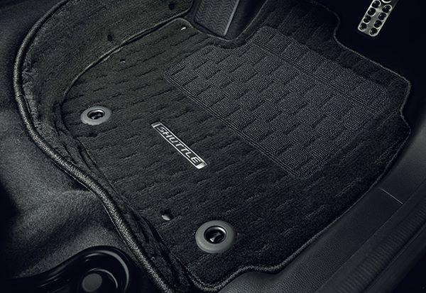 『シャトル』 純正 GP7 GP8 GK8 GK9 フロアカーペットマット プレミアムタイプ(ブラック/エクステンションマット付) フロント・リアセットパーツ ホンダ純正部品 フロアカーペット カーマット カーペットマット オプション アクセサリー 用品
