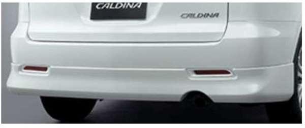 『カルディナ』 純正 AZT241 リヤバンパースポイラー ※廃止カラーは弊社で塗装 パーツ トヨタ純正部品 リアスポイラー リヤスポイラー エアロパーツ CALDINA オプション アクセサリー 用品