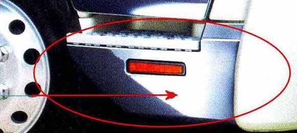 コンドル パーツ メッキステップカバー エアダム付車左右セット 日産ディーゼル純正部品 MK~ オプション アクセサリー 用品 純正 メッキ