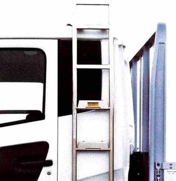 コンドル パーツ クリックステップラダー フルキャブ 日産ディーゼル純正部品 MK~ オプション アクセサリー 用品 純正 送料無料