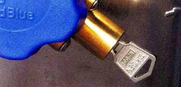 コンドル パーツ Adblueタンク用キーシリンダー 日産ディーゼル純正部品 MK~ オプション アクセサリー 用品 純正