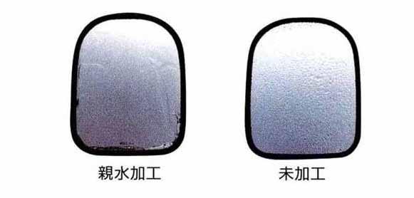 コンドル パーツ 親水レンズミラー 黒色タイプ 左メイン 日産ディーゼル純正部品 MK~ オプション アクセサリー 用品 純正 ミラー