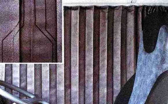 コンドル パーツ カーテン<ダークチャコール> フロントセット 日産ディーゼル純正部品 MK~ オプション アクセサリー 用品 純正 カーテン 送料無料