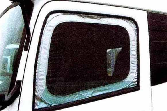 コンドル パーツ モスキートネット 左右セット 日産ディーゼル純正部品 MK~ オプション アクセサリー 用品 純正 ネット