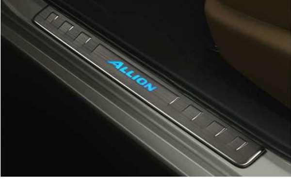 『アリオン』 純正 CEXGP CEXEP CEXEK スカッフイルミネーション パーツ トヨタ純正部品 ステップ 保護 プレート allion オプション アクセサリー 用品