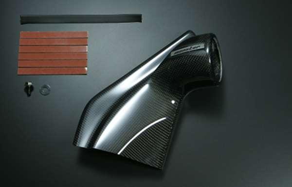 ドアメーターフード シングルφ60 カーボン 851530-5250M ジムニー 5型/6型/7型/8型/9型/10型 モンスタースポーツ スズキスポーツ