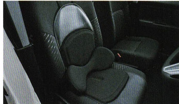 『シフォン』 純正 LA650F LA660F ランバーサポートクッション(シートエプロンタイプ) パーツ スバル純正部品 汚れから保護 セミシートカバー オプション アクセサリー 用品