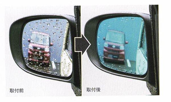 『シフォン』 純正 LA650F LA660F レインクリアリングミラー パーツ スバル純正部品 オプション アクセサリー 用品