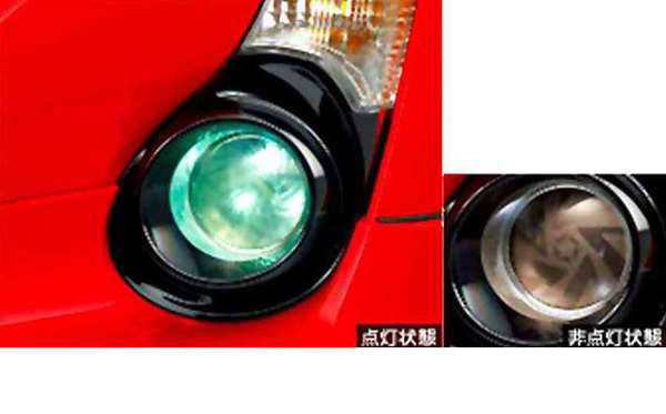 『アクア』 純正 NHP10 LEDアクセントイルミネーション パーツ トヨタ純正部品 aqua オプション アクセサリー 用品