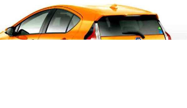 『アクア』 純正 NHP10 IR(赤外線)カットフィルム リヤサイド・バックガラス パーツ トヨタ純正部品 日除け カーフィルム aqua オプション アクセサリー 用品