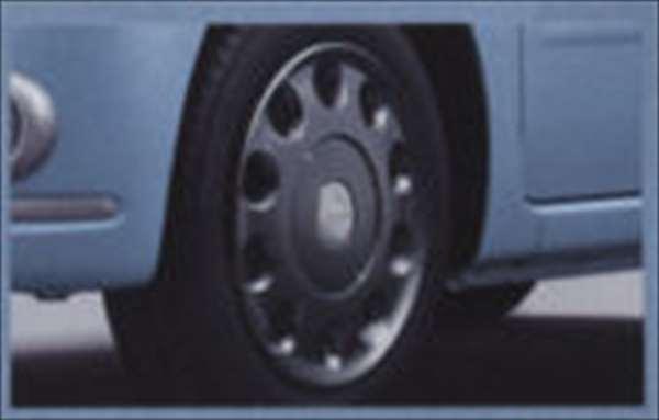 『ミラココア』 純正 L675S L685S カラーコーディネイトホイールキャップ(14インチ)ガンメタ パーツ ダイハツ純正部品 ホイールカバー miracocoa オプション アクセサリー 用品
