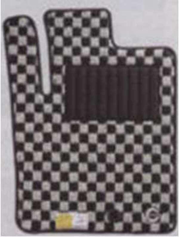 『ミラココア』 純正 L675S L685S カーペットマット(チェッカー)2WD用 パーツ ダイハツ純正部品 フロアカーペット カーマット カーペットマット miracocoa オプション アクセサリー 用品