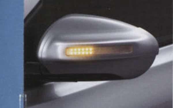 『デュアリス』 純正 KJ10 KNJ10 ウインカー付ドアミラーカバー 左右セット パーツ 日産純正部品 サイドミラーカバー カスタム DUALIS オプション アクセサリー 用品