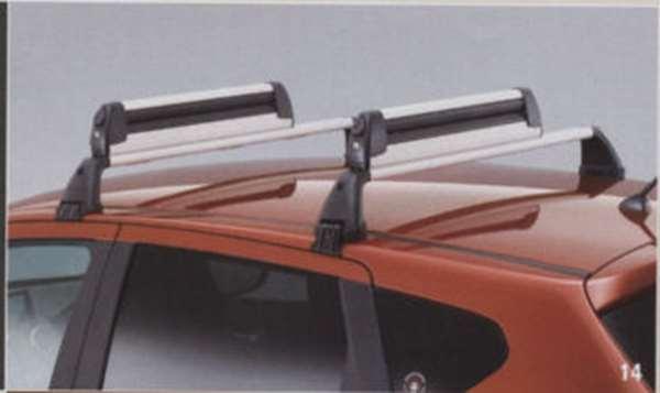 『デュアリス』 純正 KJ10 KNJ10 ベースキャリア(ブラック・スチール製) MRK30 パーツ 日産純正部品 キャリアベース ルーフキャリア DUALIS オプション アクセサリー 用品