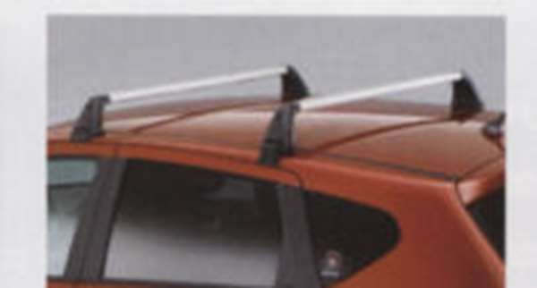 『デュアリス』 純正 KJ10 KNJ10 ベースキャリア(アルミ製シルバー) パーツ 日産純正部品 キャリアベース ルーフキャリア DUALIS オプション アクセサリー 用品