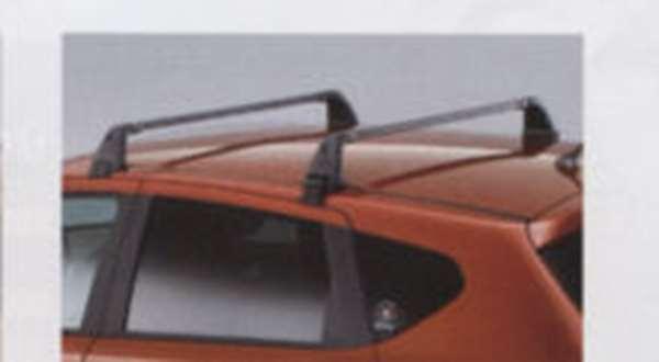 『デュアリス』 純正 KJ10 KNJ10 ベースキャリア(スチール製ブラック) MRK30 パーツ 日産純正部品 キャリアベース ルーフキャリア DUALIS オプション アクセサリー 用品